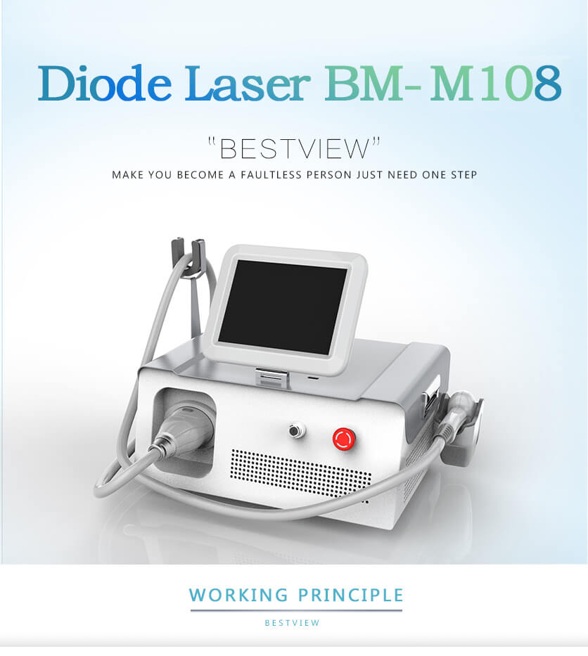 Portable 808 nm Diode laser machine