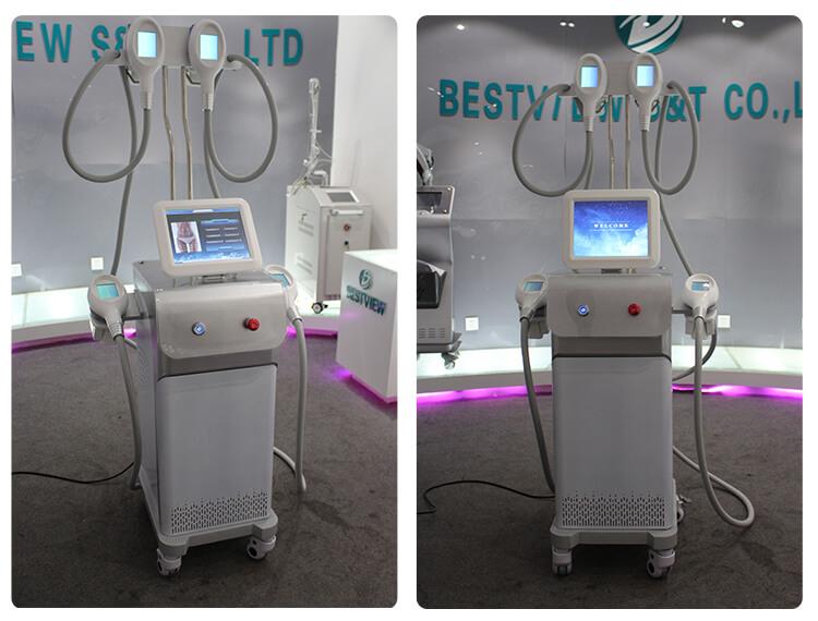 Cryolipolysis fat freezing machine
