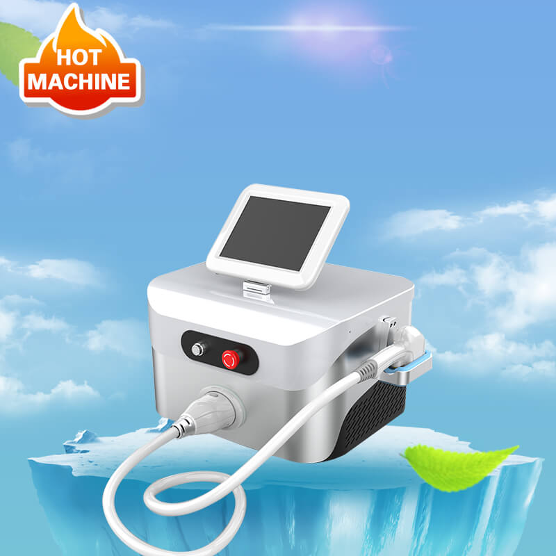 three wavelength diode laser hair removal machine