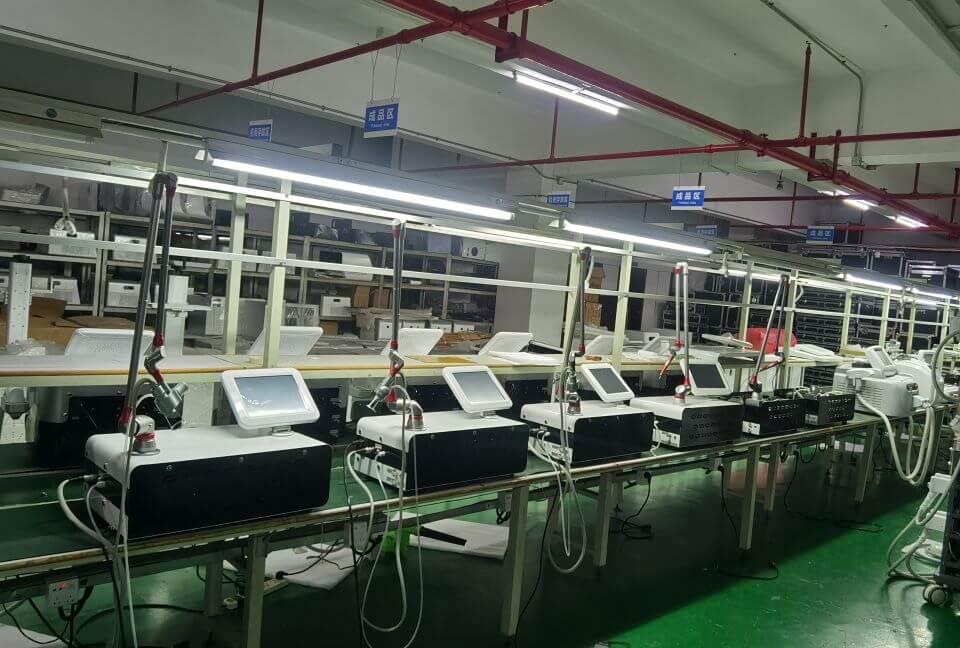 picosure laser machine workshop
